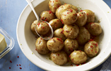 Hot Jersey Royals with Chilli and Lime
