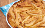 Ruth Clemen's Baked Pear and Caramel Pancake Pudding