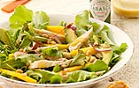 Chicken, Mango and Avocado Salad with a Tangy Green Tabasco Dressing