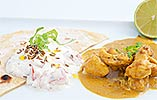 Goan Chicken Curry with a Mango Rice