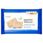 Essential Waitrose Malted Milk Biscuits