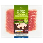 Duchy From Waitrose Organic Unsmoked Back Bacon