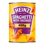 Heinz Spaghetti with Sausages