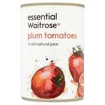 Italian Plum Tomatoes in Natural Juice essential Waitrose
