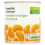 Mandarin Oranges in Fruit Juice essential Waitrose