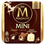Magnum Mini Classic, Almond & White Ice Cream