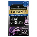 Twinings Earl Grey Decaffeinated Tea Bags