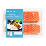 Waitrose 2 Scottish Salmon Mid/Tail Fillets