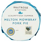 Waitrose Melton Mowbray Pork Pie Medium