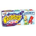 Frubes Variety Pack Yogurt Strawberry, Red Berry & Peach