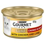 Gourmet Gold Cat Food Chicken & Liver in Gravy
