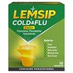 Lemsip Cold & Flu Sachets, Lemon