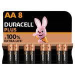 Duracell Plus AA Batteries Alkaline