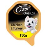 Cesar Classics Tray Chicken & Turkey