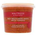 Waitrose Fresh Bolognese Sauce