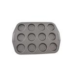 Circulon Carbon Steel Bun Tin 12 Cup 39.5cm