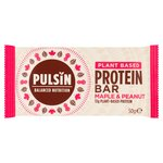 Pulsin' Maple and Peanut Protein Snack