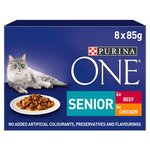 Purina One 7+ Cat Food Chicken & Beef