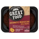 Great Foods Aromatic Moroccan Veg Cakes