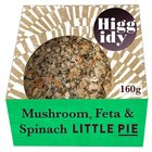 Higgidy Little Mushroom, Feta & Spinach Pie