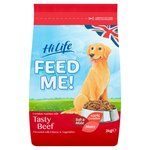 HiLife Feed Me! Beef & Cheese Dry Dog Food