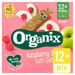 Organix Goodies Organic Raspberry & Apple Cereal Bars