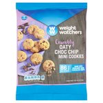Weight Watchers Mini Oaty Choc Chip Cookies
