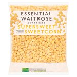 Frozen Supersweet Sweetcorn essential Waitrose