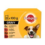 Pedigree Pouches Meat Selection in Gravy