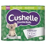 Cushelle Supersize White Rolls Equals 18 Regular Rolls