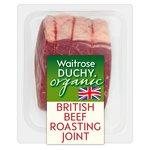 Waitrose Duchy Organic Beef Roasting Joint British