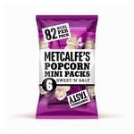 Metcalfe's Skinny Sweet & Salt Topcorn Multipack