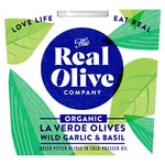 Real Olive Co. Wild Garlic & Basil Pitted Olives
