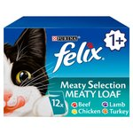 Felix Meat Selection Meaty Loaf Pouches