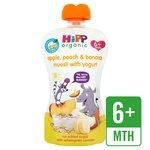 HiPP Organic Peach, Apple & Banana Muesli with Yogurt