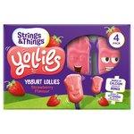 Yollies Strawberry Yogurt Lolly