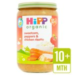 HiPP Organic Sweetcorn, Peppers & Chicken Risotto