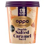 Oppo Salted Caramel with Lucuma Ice Cream