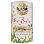 Biona Organic Rice Cakes No Salt