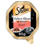 Sheba Select Slices Tray Beef in Gravy
