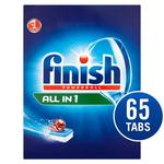 Finish All in One Dishwasher Tablets