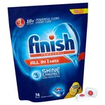 Finish All in One Max Dishwasher Tablets Lemon