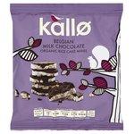 Kallo Organic Milk Chocolate Rice Cake Minis