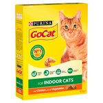 Go-Cat for Indoor Cats with Chicken & Garden Greens