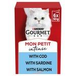 Gourmet Mon Petit Cod, Sardine & Salmon