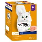 Gourmet Gold 7+ Cat Food Pate Fish Selection