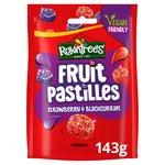 Rowntree's Red & Black Fruit Pastilles Sharing Bag