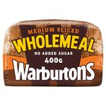 Warburtons Wholemeal Sliced Medium