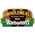 Warburtons Wholemeal Sliced Medium