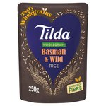 Tilda Steamed Wholegrain Brown Basmati & Wild Rice